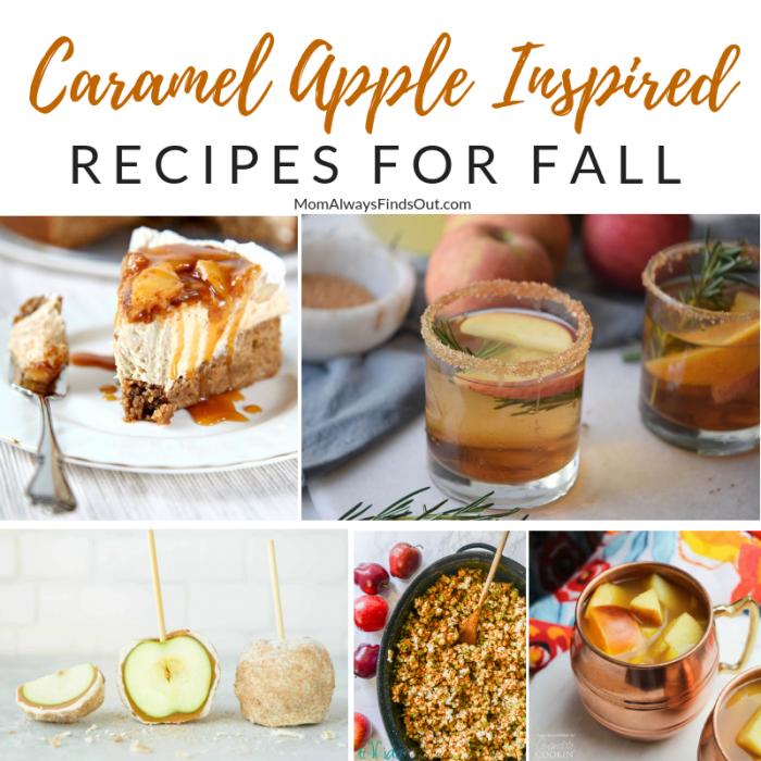 Caramel Apple Inspired Recipes
