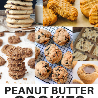 Peanut Butter Cookie Recipes It's Peanut Butter Lovers Month! Check out all thing Peanut Butter. Plus link up at Home Matters. #PeanutButter #HomeMattersParty Peanut Butter Cookies Recipe