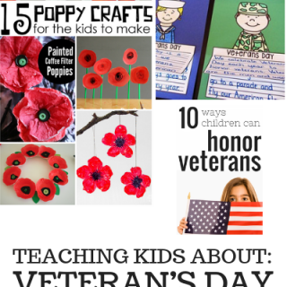 Find great ideas for honoring Veteran's Day. Plus link up at Home Matters with recipes, DIY, crafts, decor. #VeteransDay #HomeMattersParty