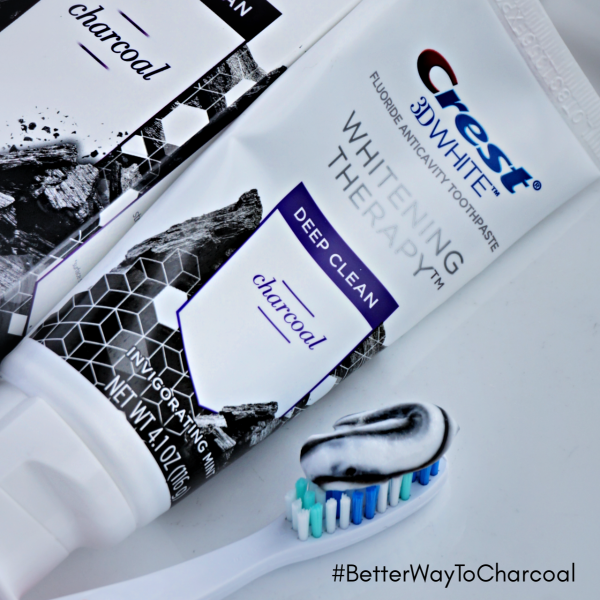 Crest Charcoal Toothpaste
