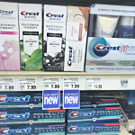 Crest Charcoal Toothpaste and Coconut Oil Toothpaste