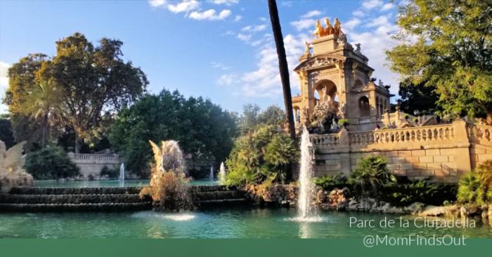 Barcelona Attractions - Parc de la Ciutadella