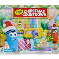 Crayola Christmas Countdown Calendar