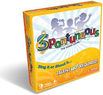 Spontuneous - The Song Game - Sing It or Shout It - Talent NOT Required