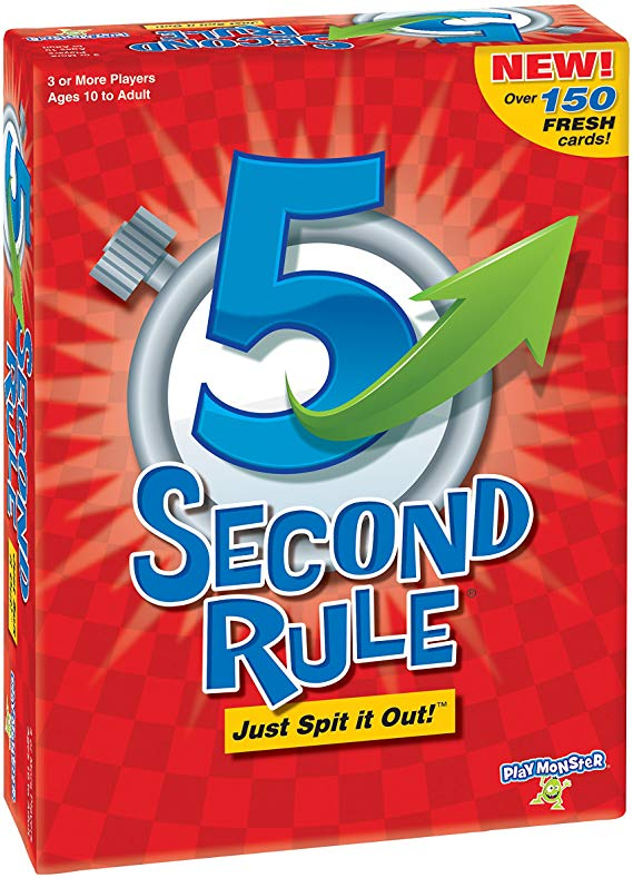 5 Second Rule Game - New Edition