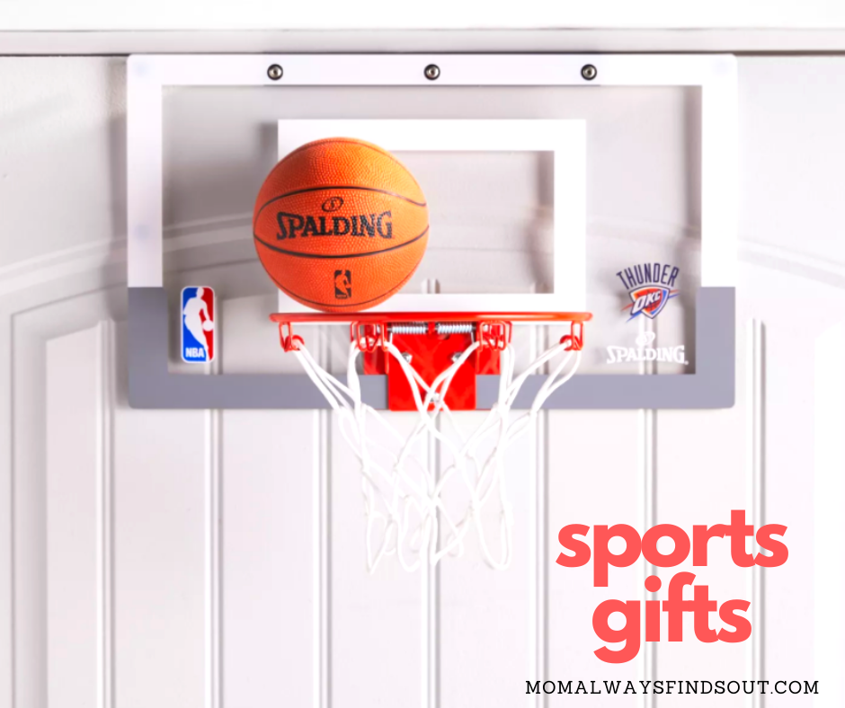 Sports Gifts For Boys and Girls - Gift Ideas Featured at Mom Always Finds Out @momfindsout