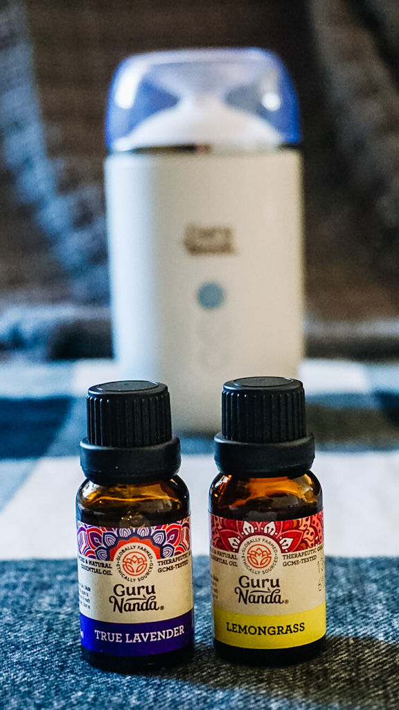 Guru Nanda Diffuser with Essential Oils - Holiday Stocking Stuffers For Her