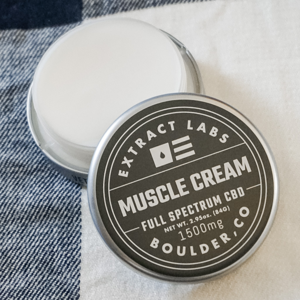 CBD Muscle Cream Extract Labs Holiday Stocking Stuffers For Her