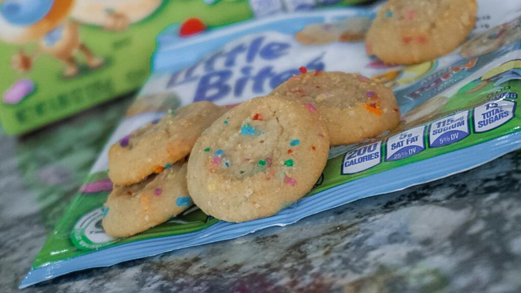 Entenmann's Little Bites Cookies #LoveLittleBites #SnackyHour