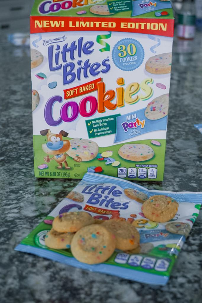 Entenmann's Little Bites Soft Baked Cookies #LoveLittleBites