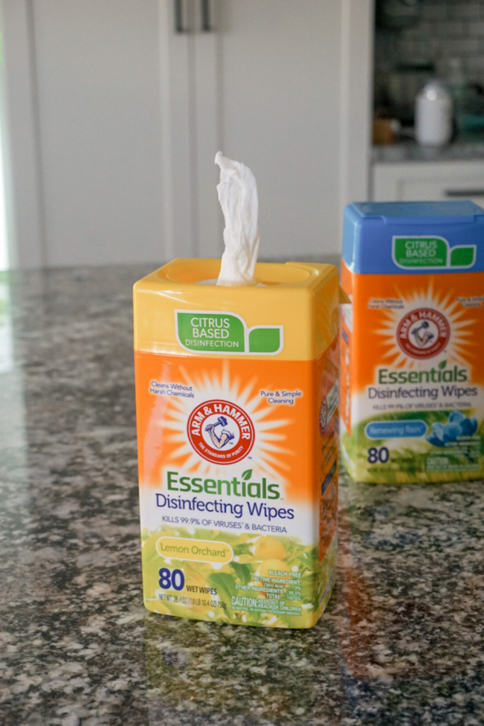 Arm & Hammer Cleaning Wipes - Bleach Free Disinfecting Wipes
