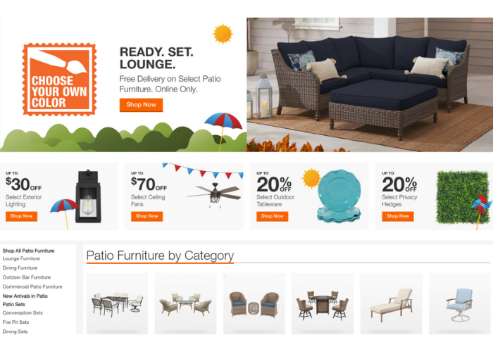 Save Up to $70 on Select Patio Furniture Plus Get Free Shipping at HomeDepot.com