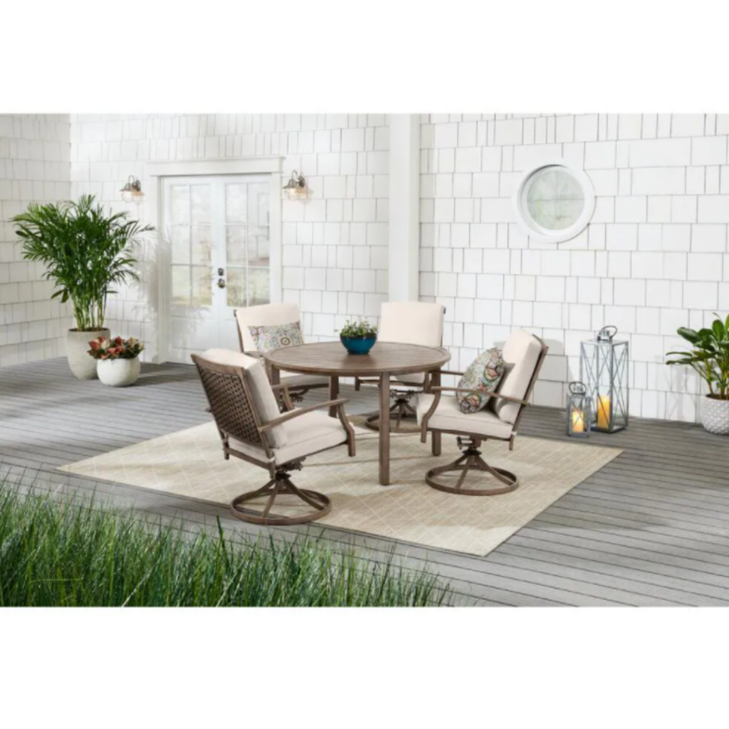 Geneva Outdoor Dining Set on Sale at Home Depot