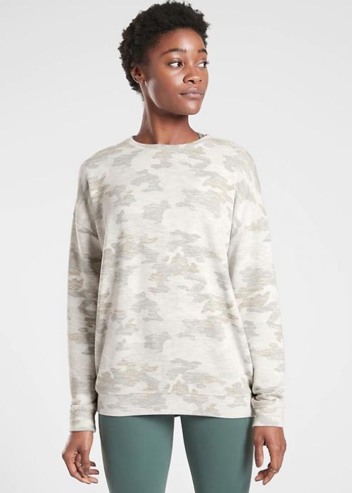 Athleta Pure Luxe Sweatshirt - Shop Athleta Semi-Annual Sale